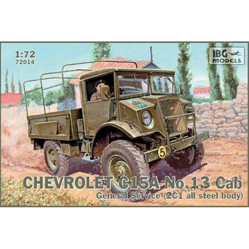Chevrolet C.15A No.13 Cab General Service