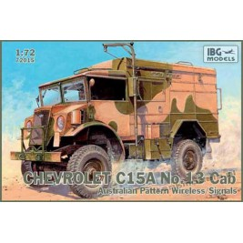 Chevrolet C.15A No.13 Cab Australian Pattern Wireless / Signals - IBG 72015