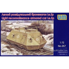 Light reconnaissance armored car Le.Sp Radio - UniModels 257