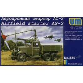 AS-2 on GAZ AAA - UniModels 321