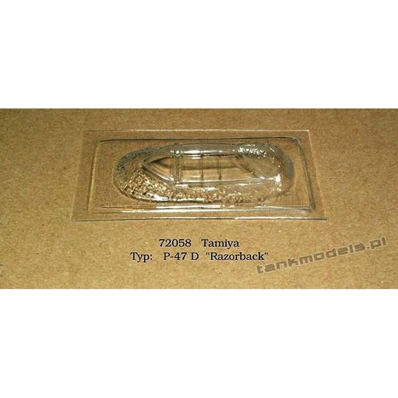 """P-47 D """"Razorback"""" (Tamiya) - Rob Taurus 72058"""