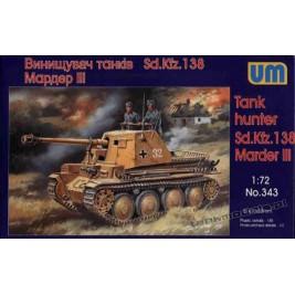 Marder III Sd.Kfz.138 - UniModels 343