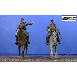 "SS Cavalry Division ""Florian Geyer"" (2 fig.) - Modell Trans MT 72901"