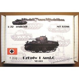 Panzer I Ausf. C (VK.601) - Modell Trans 72380