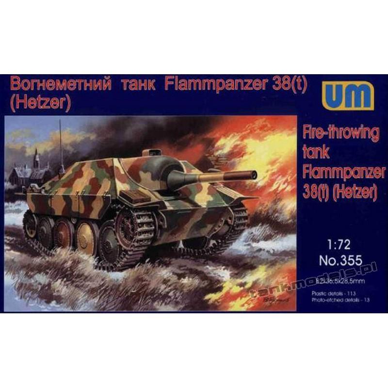 Sd.Kfz.138/2 Hetzer Flammpanzer