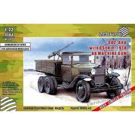 GAZ-AAA with DShK AA mod. 1938 - Zebrano Z72002