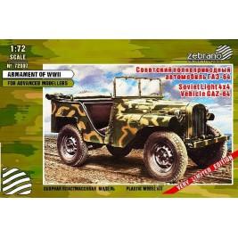 GAZ-64 4x4 - Zebrano Z72007