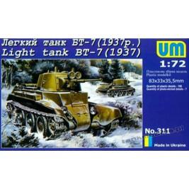 BT-7 mod. 1937 - UniModels 311