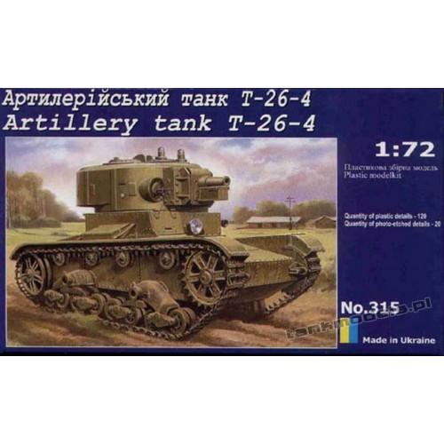 T-26-4 w/Artilleri Turret - UniModels 315