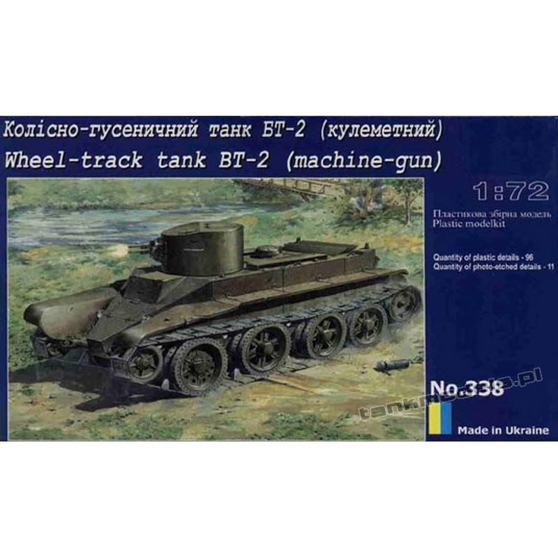BT-2 w/machine gun