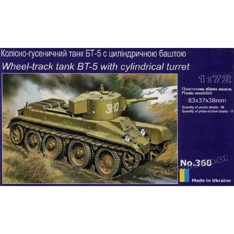 BT-5 w/ cylindrical turret