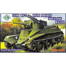 BT-5 RC-132 mm w/Rocket - UniModels 406