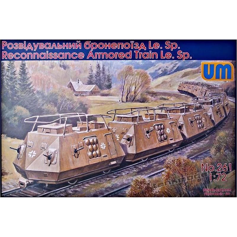 Reconnaissance Armored Car Le.Sp - UniModels 261