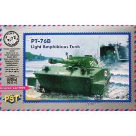 PT-76 B Swimming tank (Polish Army) - PST 72053