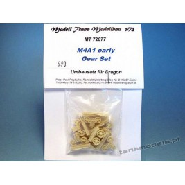 M4A1 Early (gear set for M4) - Modell Trans 72077