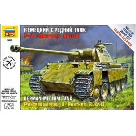 Pz.Kpfw. V Panther Ausf. D (Snap fit) - Zvezda 5010