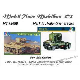 Valentine tracks (Italeri) - Modell Trans 72098