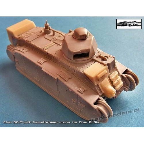 Char B2(f) with Flammenwerfer (Trumpeter) - Modell Trans 72099