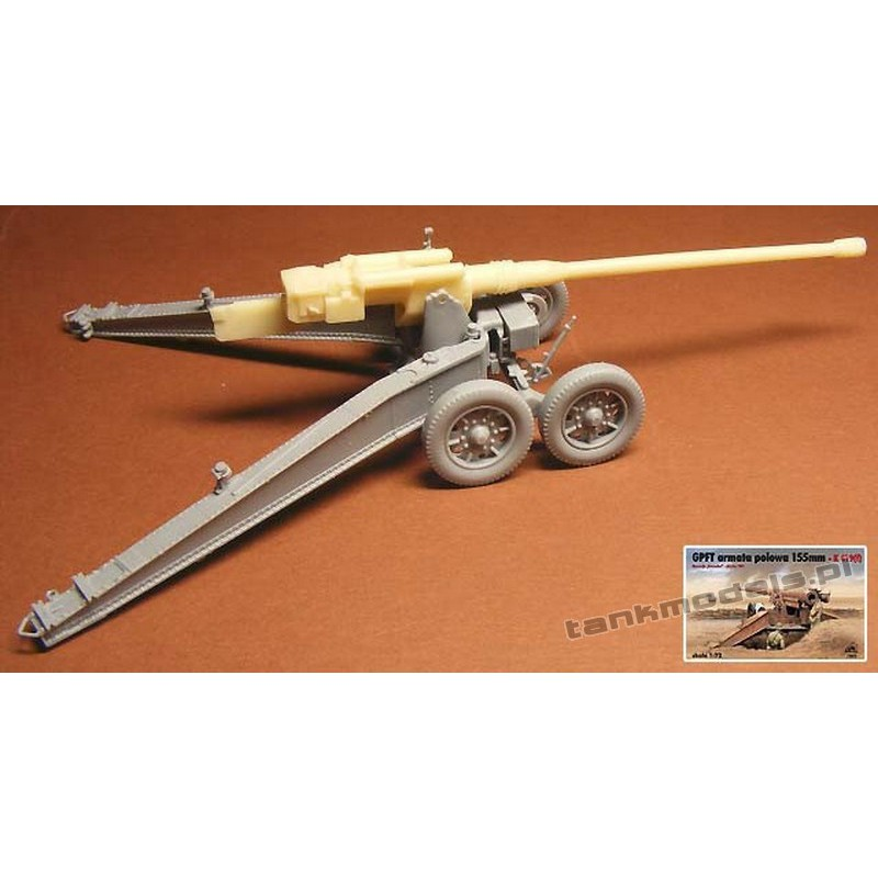 12,8 cm PaK 41 (conversion for GPF from RPM) - Modell Trans MT72399