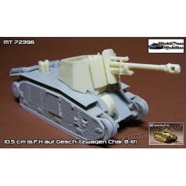 10,5 cm ls.F.H auf Geschützwagen Char B-1(f). - Modell Trans 72396
