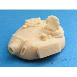 T-55A with radiation protection armor - Modell Trans 72131