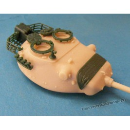 Leopard 1 (A1) (conv. for Revell A5) - Modell Trans MT 72137