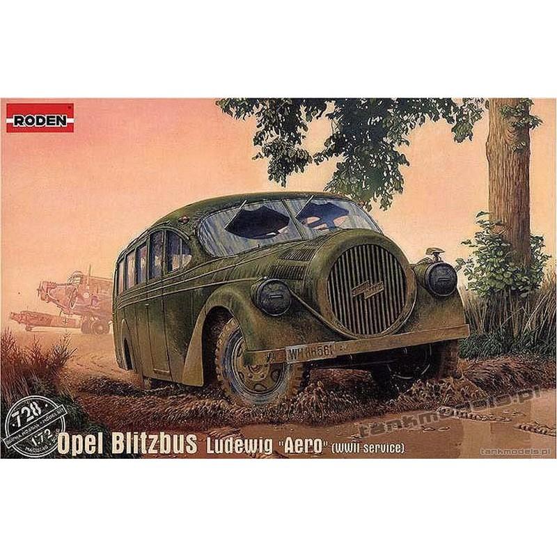 "Opel Blitz Ludewig ""Aero"" (WWII service) - Roden 728"