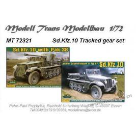 Sd.Kfz. 10 układ jezdny (ACE) - Modell Trans 72321