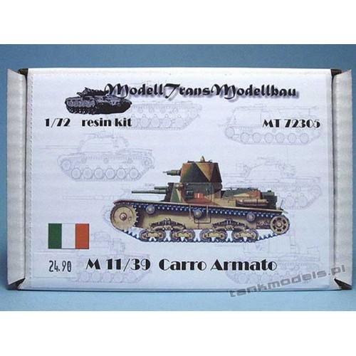 M 11/39 Carro Armato - Modell Trans 72305