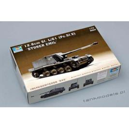 Sturer Emil 12.8cm K40 L/61 auf Pz. Sfl. V - Trumpeter 07210
