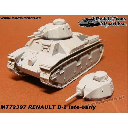 Renault D-2 late/early - Modell Trans MT 72397