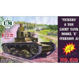 Vickers 6 Ton mod.E ver. A - UMMT 618