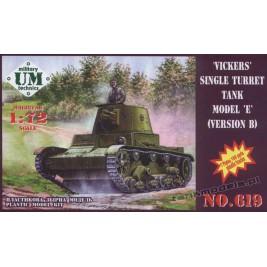 Vickers 6 Ton mod.E ver. B - UniModels 619