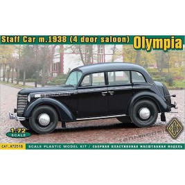 Olympia (4 door saloon) staff car, model 1938 - ACE 72518