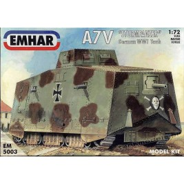A7V German tank WWI - Emhar 5003