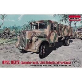 Opel Blitz (Daimler built, L701 Einheitsfahrerhaus) - Roden 719