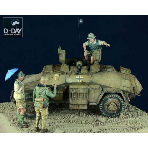Afrika Korps Set 1 - D-Day Miniature 72002