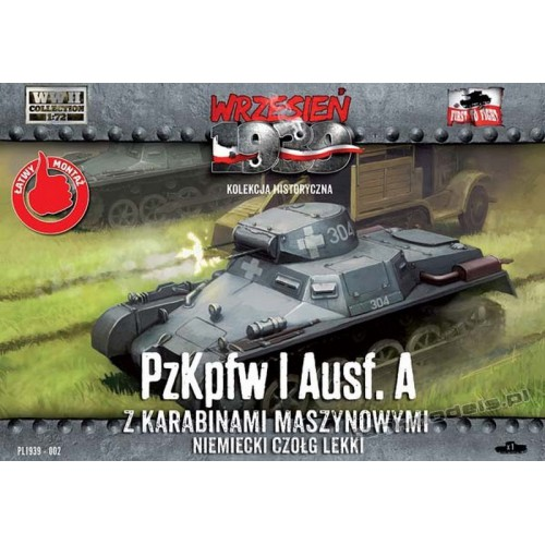 Pz. Kpfw. I Ausf. A - First To Fight PL1939-002