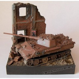 Panther II (2 variants) Panzerwaffe '46 - Modell Trans 72356