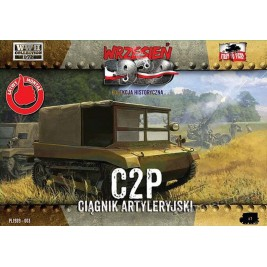 C2P Polish artillery tractor - First To Fight PL1939-03