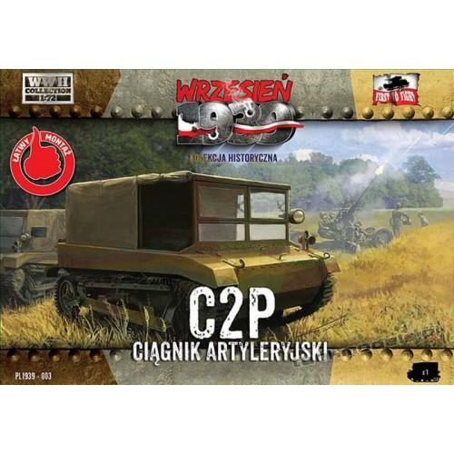 C2P polski ciągnik artyleryjski - First To Fight PL1939-03
