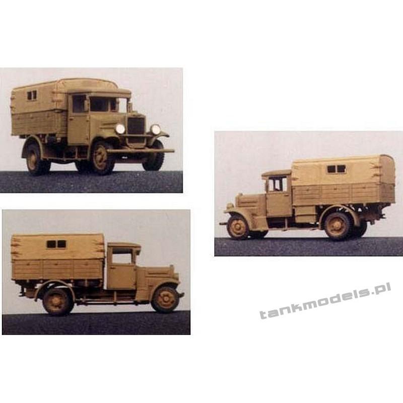 Polski Fiat 621L / I Army truck - Mars 7201