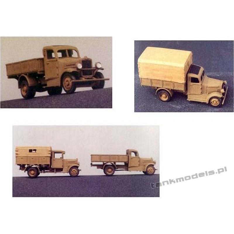 Polski Fiat 621L/III Mobile workshop - Mars 7203