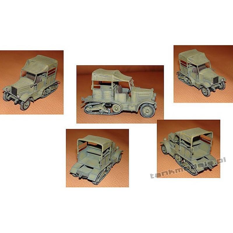 PZInz. C4P / II Gun Polish tractor - Mars 7205