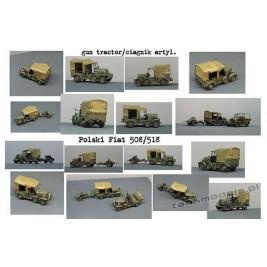 Polski Fiat 508/518 AT gun tractor - Mars 7220.1