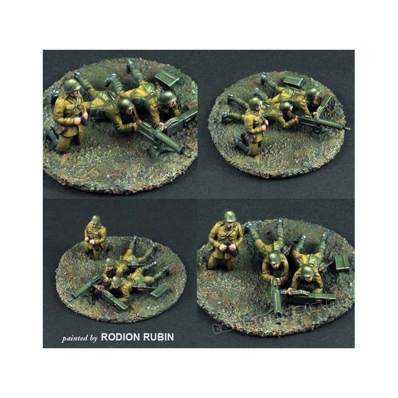 Polish CKM wz.30 with Crew - Scibor Miniatures 72HM0006