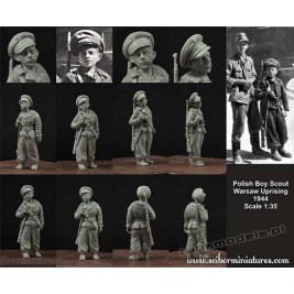 Polish Boy Scout No.2 (Warsaw Uprising 1944) - Scibor Miniatures 35011