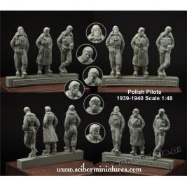 Polscy piloci, 1939 - Scibor Miniatures 480012