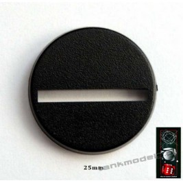 Podstawka pod figurkę 25mm (10szt.) - DICE&GAMES DG25