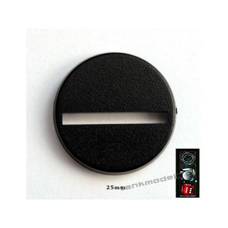 Base for figures 25mm - DICE&GAMES DG25